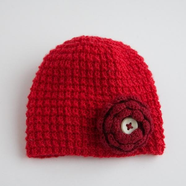 Laste kootud müts 2 (ümbermõõt u30cm)