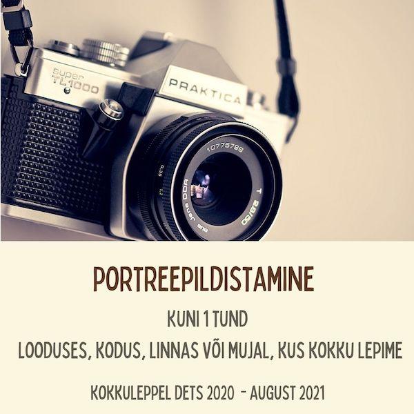 Fotosessioon - Portreepildistamine