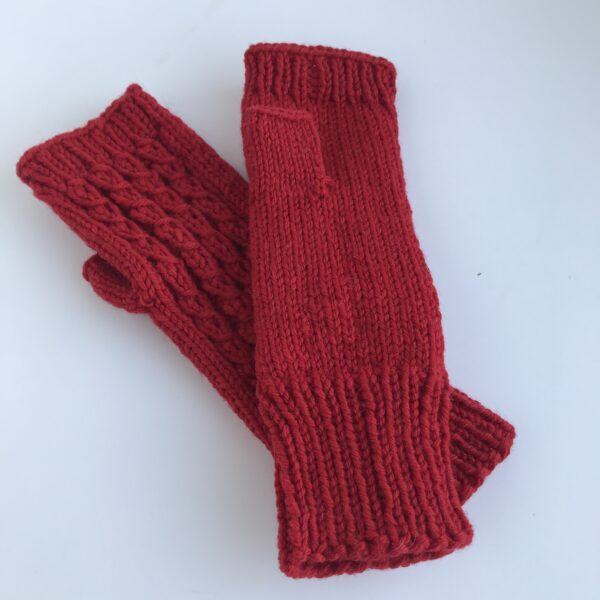 Punased kindad (ümbermõõt 13cm)
