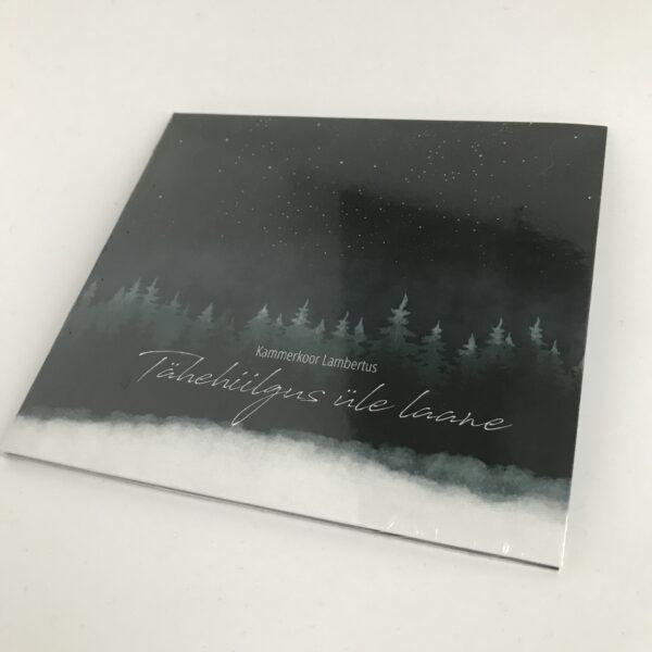 """CD plaat """"Tähehiilgus üle laane"""" (kammerkoor Lambertus)"""