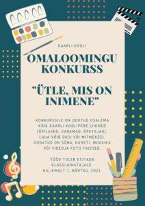 OMALOOMINGUKONKURSS